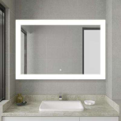 30.00 in. x 45.30 in. Frameless LED Lighted Bathroom Mirror