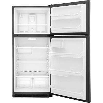 18 cu. ft. Top Freezer Refrigerator in Stainless Steel ENERGY STAR