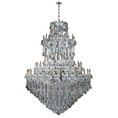 Maria Theresa Collection 84-Light Chrome Crystal Chandelier