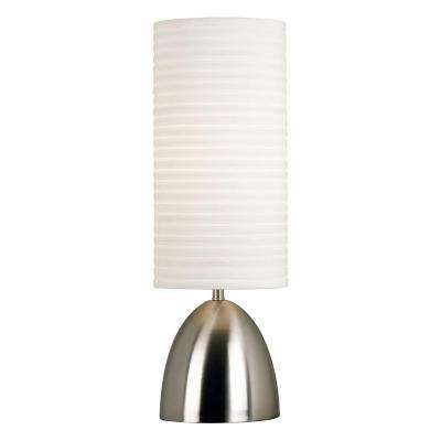 Bandeau 30 in. Brushed Steel Table Lamp