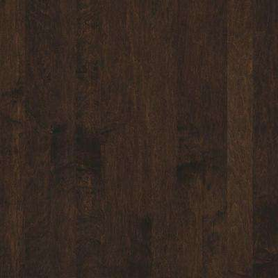 Take Home Sample - Subtle Scraped Ranch House Autumn Maple Engineered Hardwood Flooring - 5 in. x 7 in.