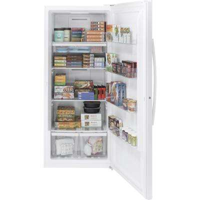 21.0 cu. ft. Frost-Free Upright Freezer in White