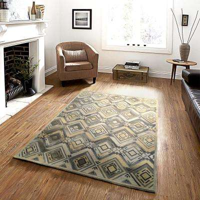 Integrity Wounded Warrior Donator Flax 9 ft. x 12 ft. Indoor Area Rug