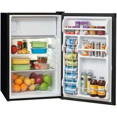 4.5 cu. ft. Mini Refrigerator with Full Freezer in Black, ENERGY STAR