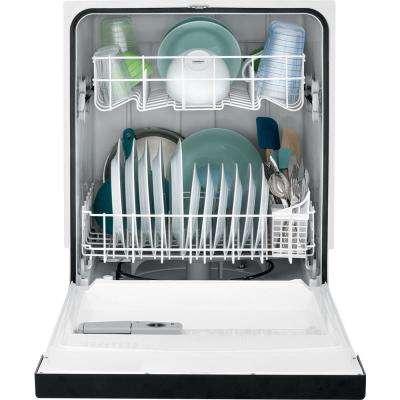 Front Control Dishwasher in Black, 62 dBA