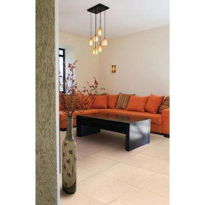 Monterosa Beige 20 in. x 20 in. Polished Porcelain Floor and Wall Tile (19.44 sq. ft. / case)