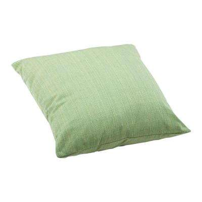 Parrot Square Outdoor Throw Pillow
