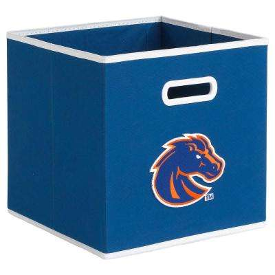 College STOREITS Boise State University 10-1/2 in. W x 10-1/2 in. H x 11 in. D Blue Fabric Storage Drawer