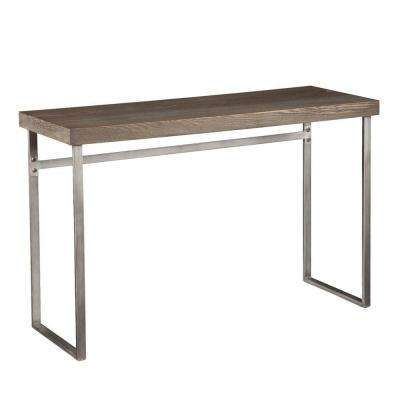 Hanover Weathered Oak Console Table