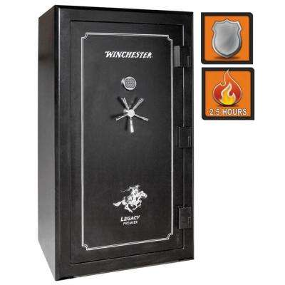Legacy Premier 53 54-Gun Black Gloss Fire-Safe Electronic Lock