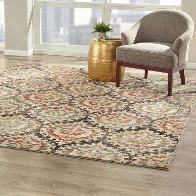 Sondra Oyster 8 ft. x 8 ft. Square Area Rug