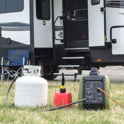 2,200/1,800-Watt Dual Fuel LPG/Gasoline Powered Recoil Start Portable Digital Inverter Generator with Parallel Capacity
