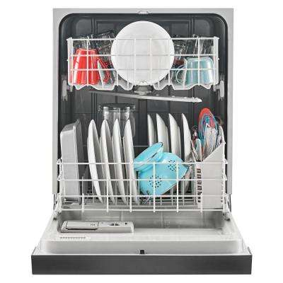 Front Control Built-In Tall Tub Dishwasher in Stainless Steel with Triple Filter Wash System, 63 dBA