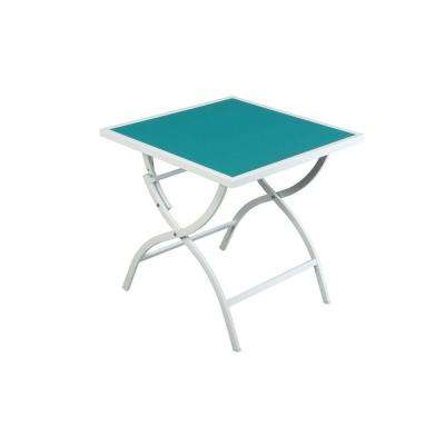 Parksville Folding Sling Top Patio Bistro Table