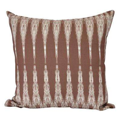 26 in. Peace 1 Geometric Print Decorative Pillow