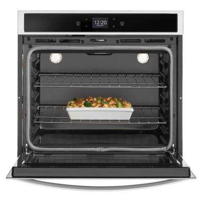 30 in. Single Electric Wall Oven with Touchscreen in Stainless Steel