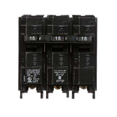 15 Amp 3-Pole Type QP Plug-In Circuit Breaker