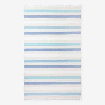 Hammam Striped Cotton Beach Towel