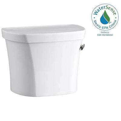 Wellworth 1.28 GPF Single Flush Toilet Tank Only in White