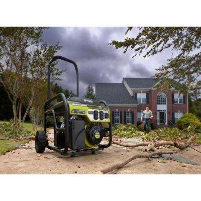 6,500 Running Watt Gasoline Powered Portable Generator with CO Shutdown Sensor