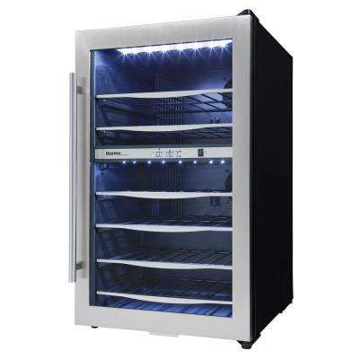 19.44 in. 38-Bottle Dual-Zone Wine Cooler