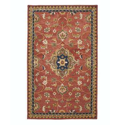 Basel Red/Multi 8 ft. 3 in. x 11 ft. Area Rug