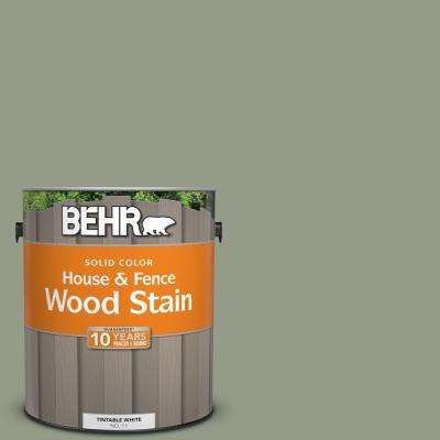 1 gal. #SC-143 Harbor Gray Solid Color House and Fence Wood Stain
