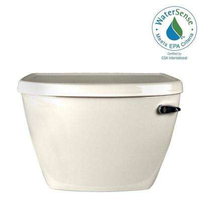 Cadet Pressure-Assisted FloWise 1.1 GPF Single Flush Toilet Tank Only in Linen with Right-Hand Trip Lever