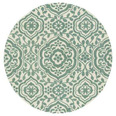 Evolution Mint 11 ft. 9 in. x 11 ft. 9 in. Round Area Rug