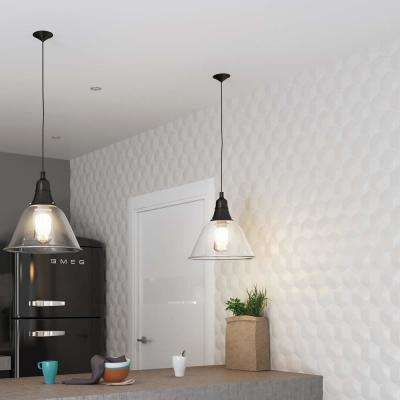 Magical 3D Star Glossy White 4-1/4 in. x 4-7/8 in. Ceramic Wall Tile