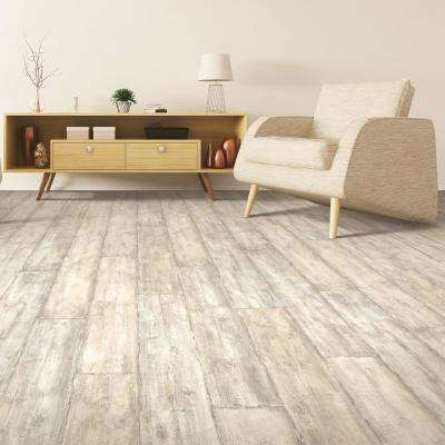 Outlast+ Waterproof Salted Oak 10 mm T x 7.48 in. W x 54.33 in. L Laminate Flooring (16.93 sq. ft. / case)