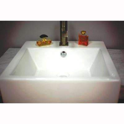 Kinley 30 in. W x 20 in. D x 36 in. H Single Vanity in Black Oak with Marble Vanity Top in White with White Basin