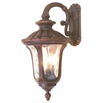 Providence Wall-Mount 3-Light Imperial Bronze Outdoor Incandescent Lantern