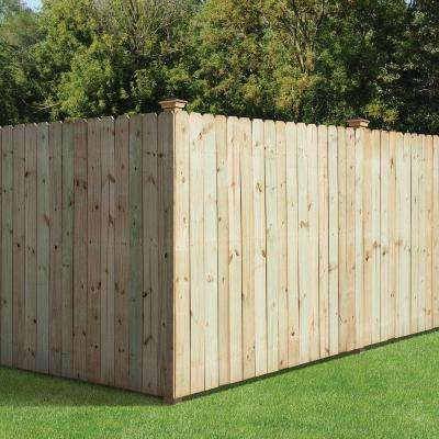 5/8 in. x 6 in. x 6 ft. Pressure Treated Pine Dog Ear Fence Picket (3-Pack)