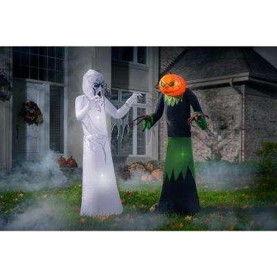 5 ft. Inflatable Pumpkin Reaper