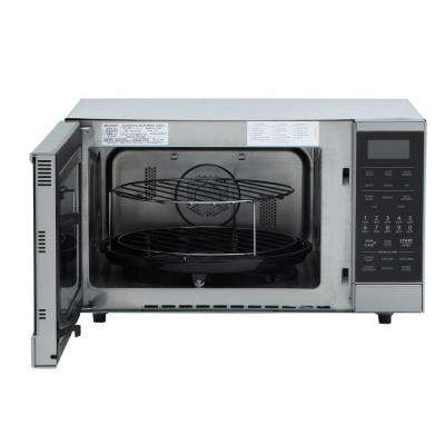 0.9 cu. ft., 900 Watt Counter Top Convection Microwave in Stainless Steel