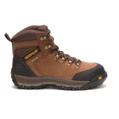 Men's Leather Munising Waterproof Work Boots - Composite Toe
