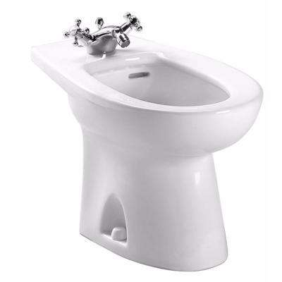 Piedmont Elongated Bidet for Deck Mount Faucet in Cotton White