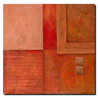 35 in. x 35 in. Abstract Canvas Art