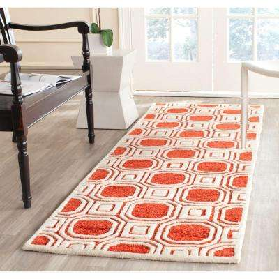 Precious Rose 3 ft. x 8 ft. Runner Rug