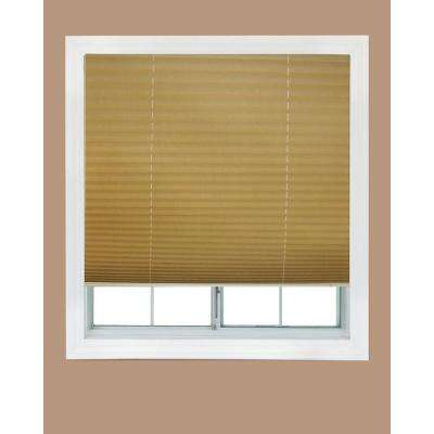Fabric Corded Light Filtering Pleated Shade