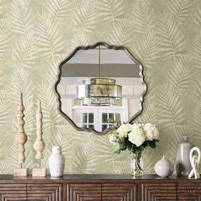 56.4 sq. ft. Amador Olive Palm Wallpaper