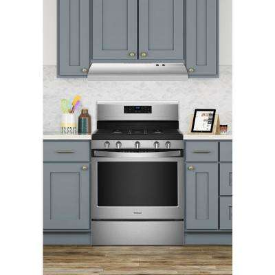 30 in. Non-Vented Range Hood in Stainless Steel