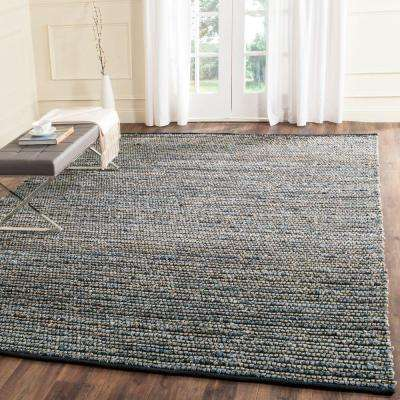Cape Cod Blue 8 ft. x 10 ft. Area Rug