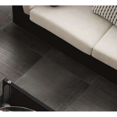 lungo Dark Gray 12 in. x 24 in. x 9mm Matte Porcelain Floor and Wall Tile (8 pieces / 15.49 sq. ft. / box)