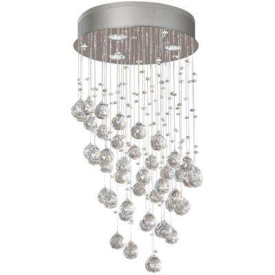 Merrinee 3-Light Chrome Crystal Chandelier