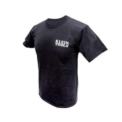 Men's Black Cotton Hanes Tagless Short Sleeved T-Shirt