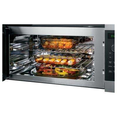 Profile 1.7 cu. ft. Over the Range Microwave in Stainless Steel with Speedcook