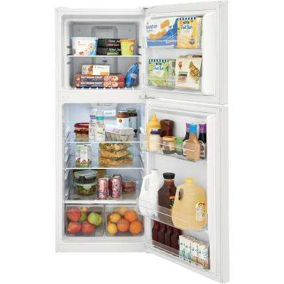 11.6 cu. ft. Top Freezer Refrigerator in White, ENERGY STAR