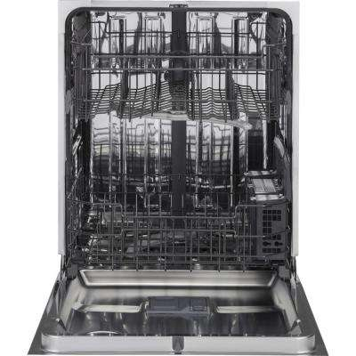 Front Control Dishwasher in Stainless Steel with Stainless Steel Tub and Steam Prewash